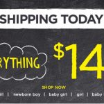 Gymboree.com: Everything $14.99 and Under + FREE Shipping!