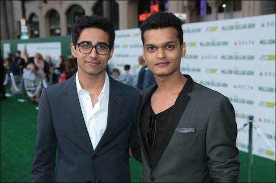 Suraj Sharma and Madhur Mittal Million Dollar Arm
