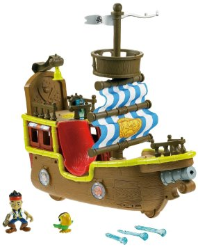 Fisher Price Jake and the Neverland Pirate Ship Jake Musical Bucky