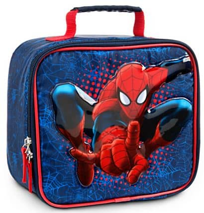 disney spiderman lunchbox