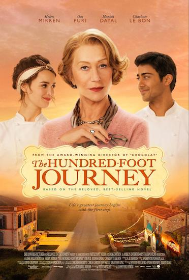 Hundred Foot Journey movie poster