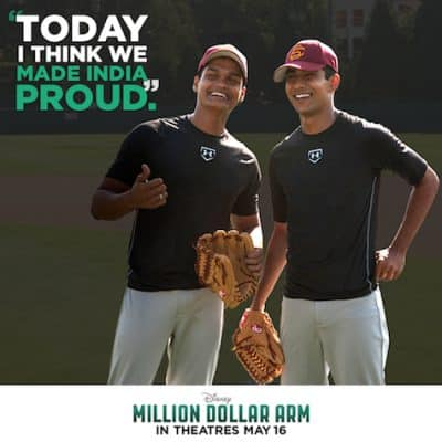 Exclusive Million Dollar Arm Interviews with Madhur Mittal and Suraj Sharma