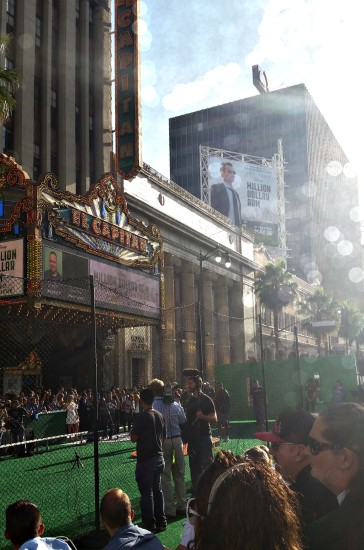 The Amazing Million Dollar Arm Premiere at the El Capitan Theater in