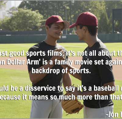 Disney's Million Dollar Arm Review: I LOVED This Movie! #MillionDollarArmEvent