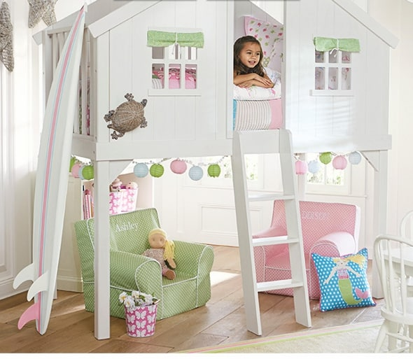 Pottery Barn Kids Save Up To 30 On Tree House Bunk Beds
