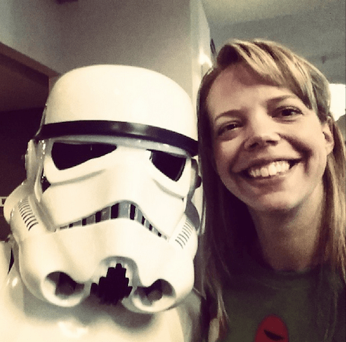 Star Wars Rebels stormtrooper selfie