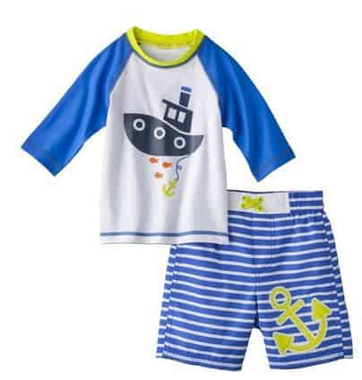 target carters swimsuit