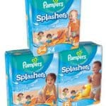 Walmart Deals: Pampers Splashers for $7.47 after Printable Coupon!