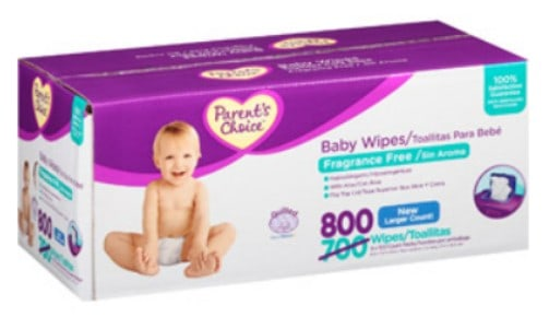 parents choice wipes