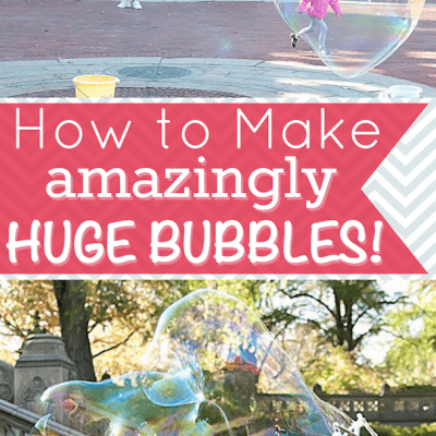 How to Make Bubble Solution for Huge Bubbles!