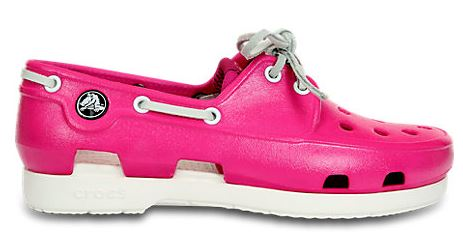 crocs boat shoe