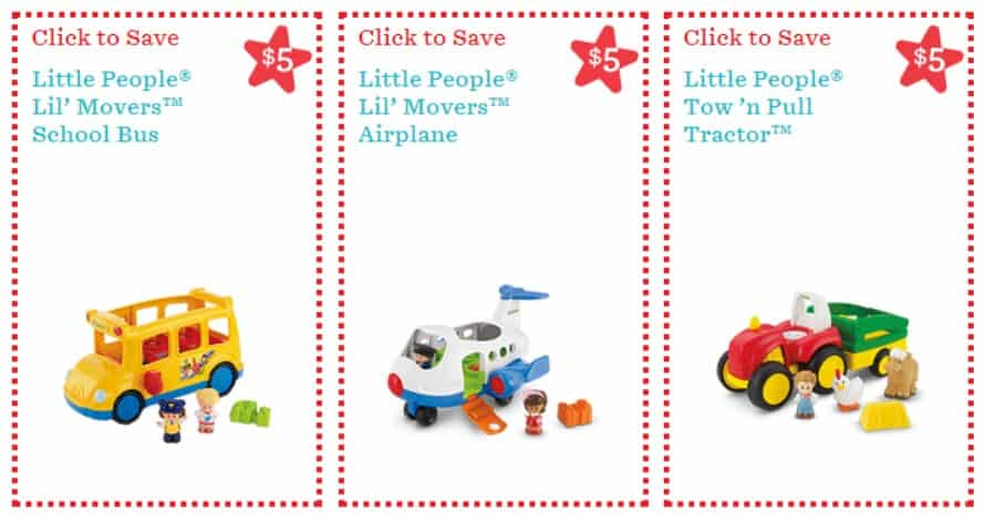 picture about Fisher Price Printable Coupons named $44 inside of Financial savings with Fresh new Fisher Selling price Printable Discount codes!