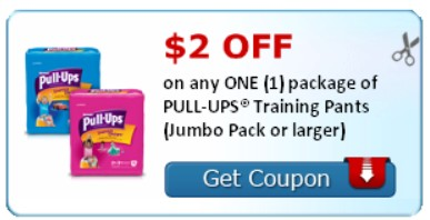 Save Up to $7.50 on Pull-Ups with New Printable Coupons!