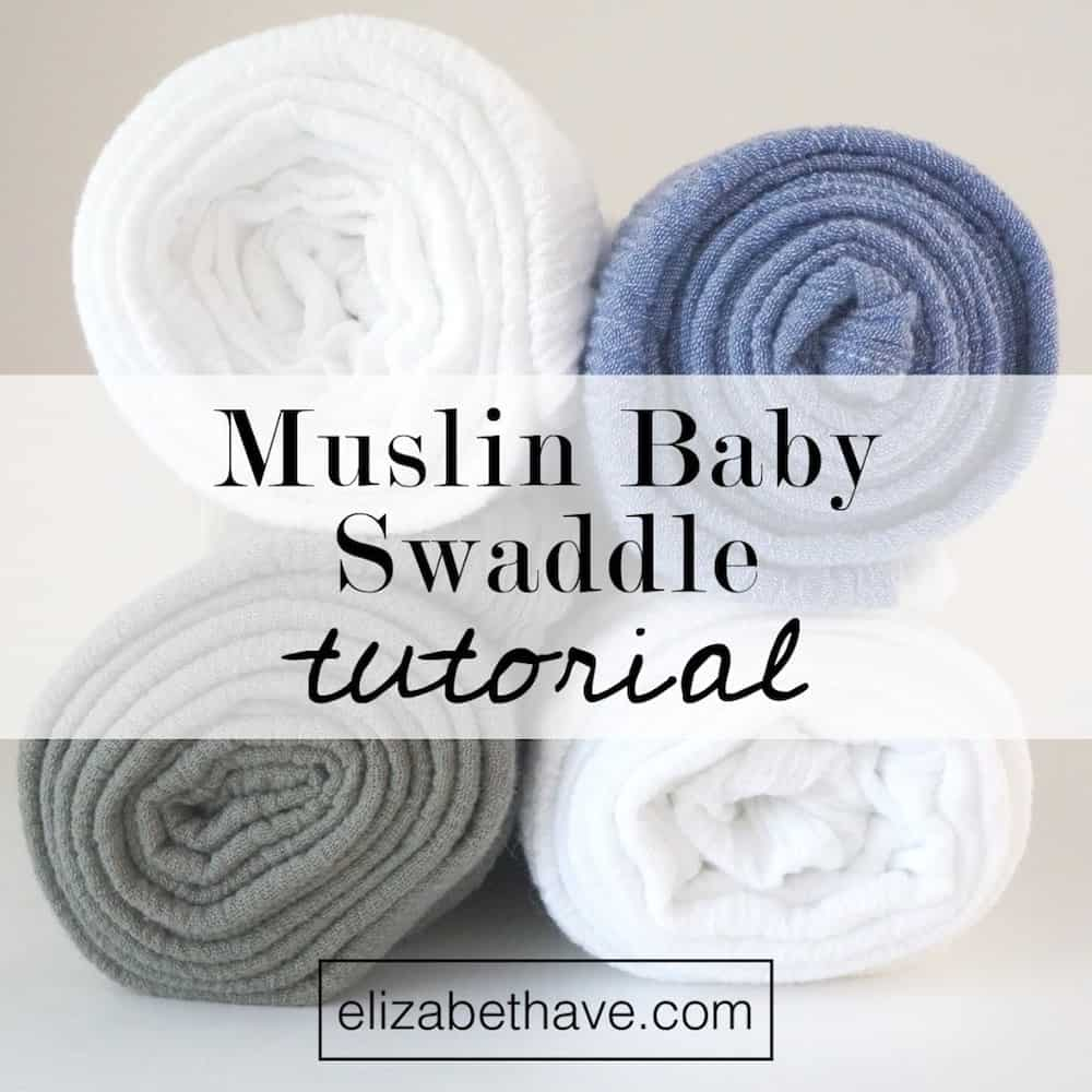 DIY swaddling blanket pattern