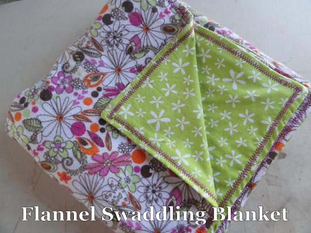 how to make a baby swaddle sack