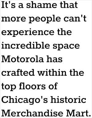 motorola headquarters benefits chicago