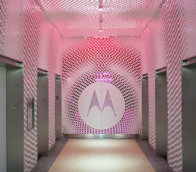 motorola headquarters elevator bank