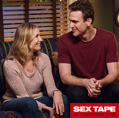 "Exclusive Interview with Cameron Diaz and Jason Segal from ""Sex Tape"" Movie! #SexTapeMovie"