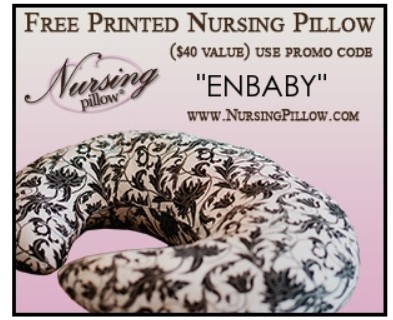 FREE Nursing Pillow! Just Pay Shipping!