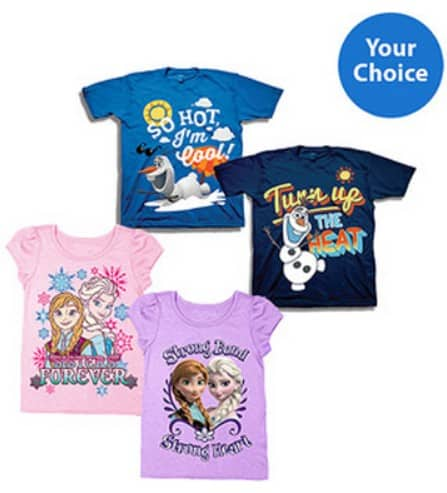 frozen shirts