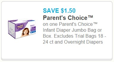 graphic about Parents Choice Formula Coupons Printable identify Walmart Coupon Specials: Mothers and fathers Determination Diapers simply just $0.11/Diaper!