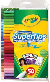 crayola supertips washable markers scent