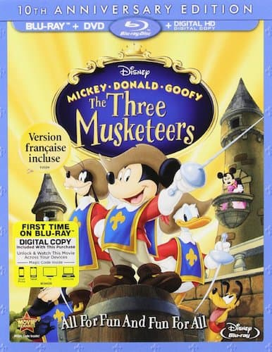 disney 3 musketeers cover poster