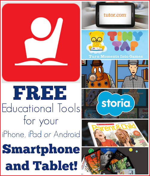 free education apps smartphone
