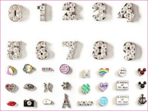 origami owl inspired charms