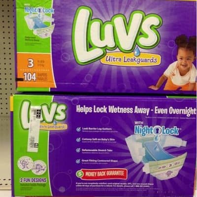 Target Deals: Luvs Boxed Diapers $13.16 After Printable Coupons