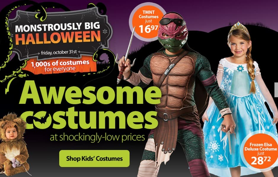 Halloween Costumes for Kids Starting at just $4.97 Free Shipping Eligible!  sc 1 st  Babysavers & Halloween Costumes for Kids Starting at just $4.97 Free Shipping ...