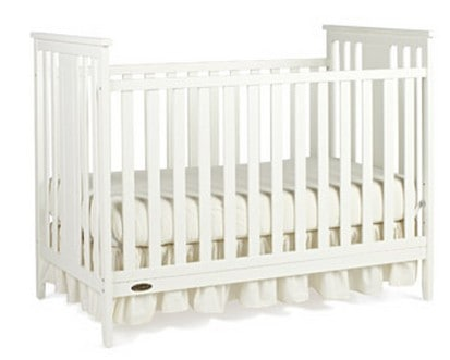 Graco Beckham Fixed Side Convertible Crib Just 99 98