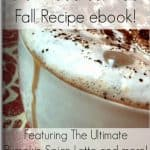 FREE Fall Coffee Recipes eBook!