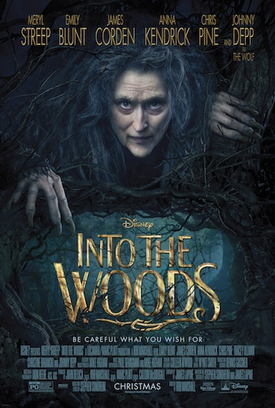 disney's into the woods poster