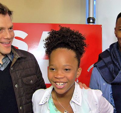 ANNIE 2014: My Interview with Jamie Foxx, Quvenzhané Wallis, Will Gluck #AnnieMovie
