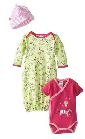 zutano-baby-gown-set