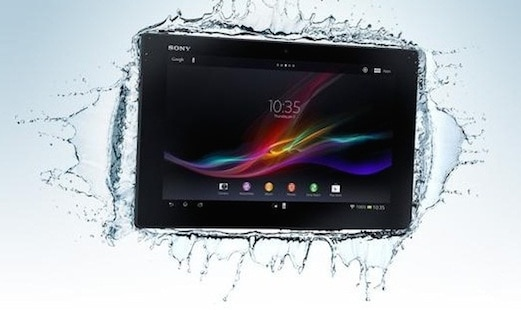 kindle tablet in shower