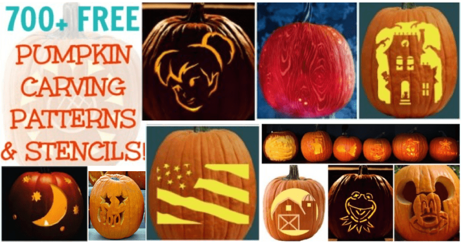 free pumpkin carving patterns 700 pumpkin templates - Carving Templates Halloween Pumpkin