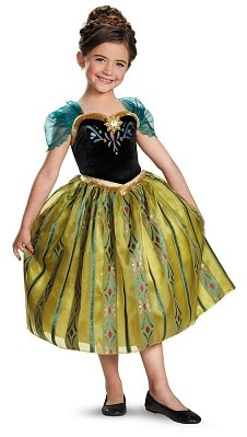 Save 54% on the Disney's Frozen Anna Coronation Gown Girls Costume, Free Shipping Eligible!