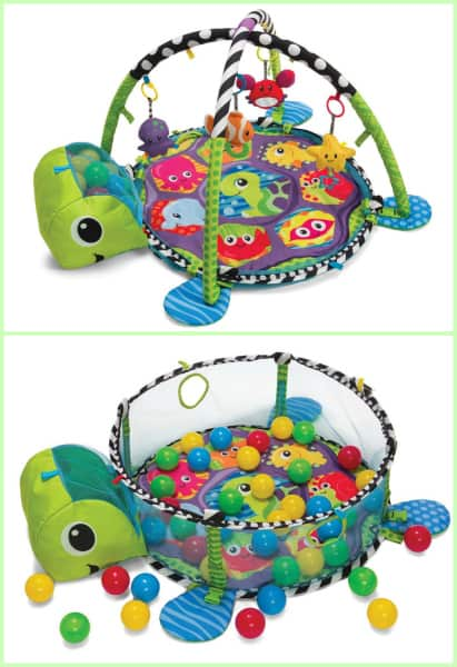 Infantino grow with me activity gym ball pit