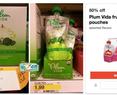 Target Coupon Deal: FREE Plum Vida Single Pouch with Coupon!