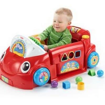 Fisher-Price Laugh & Learn Smart Stages Crawl Around Car $39.88 + FREE Shipping Eligible!
