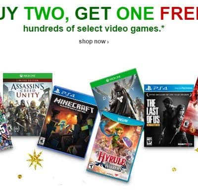 Target.com: Video Games Buy 2 Get 1 FREE! PLUS Free Shipping and 5% off with RedCard!