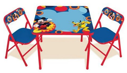 disney table and chair set