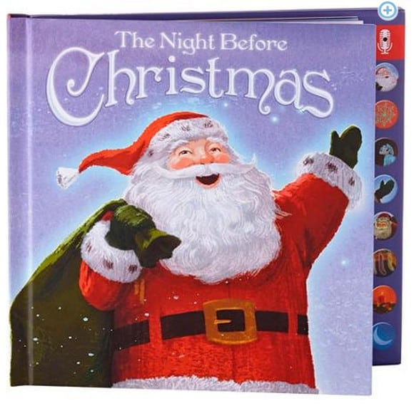 Recordable Christmas Books.Hallmark Press And Play Recordable Storybook The Night