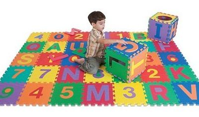 Edu Tile 36-pc. Letters & Numbers Set only $28.79 (reg $59.99) + FREE Shipping!