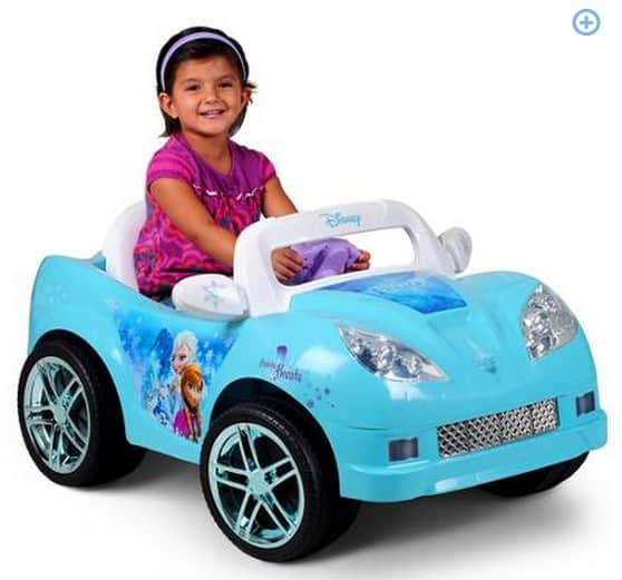 Disney Frozen Convertible Car  Volt Battery Powered Ride On Charger