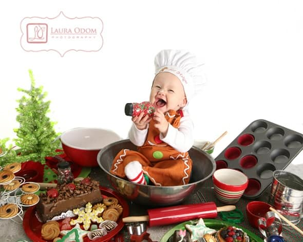 baby christmas card ideas  20 pictures and poses to inspire