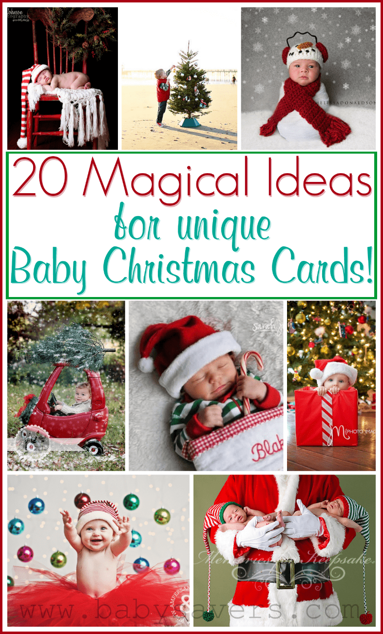 Baby Christmas Card Ideas: 20 Pictures and Poses to Inspire
