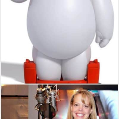 baymax voice over
